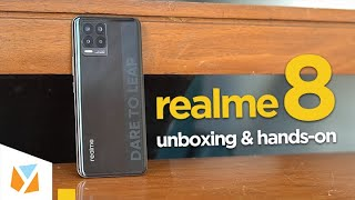 realme 8 Unboxing and Hands-On