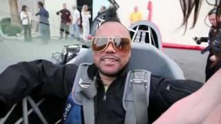 Black Eyed Peas Apl.de.ap Flies with Sky Combat Ace