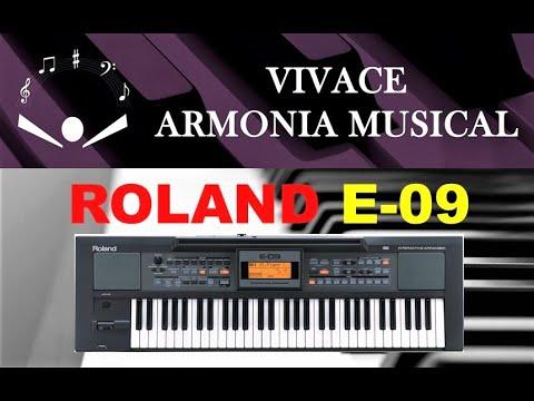 COMO USAR EL ROLAND E-09 - Funciones