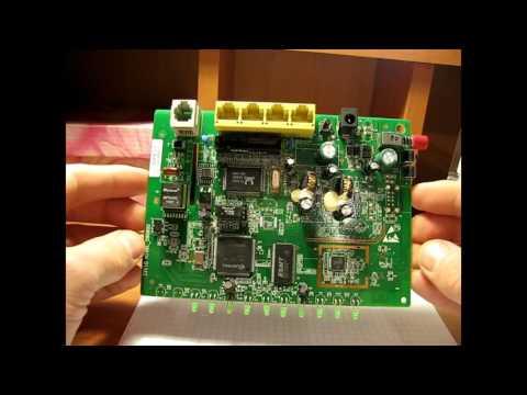 Модем ADSL ZXV10 H108L неисправность.