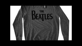The Beatles Logo Men's Sweatshirt
