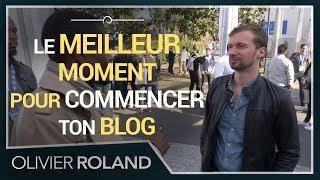 🕰 Le meilleur moment pour commencer ta chaîne Youtube et ton blog