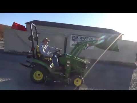 2011 John Deere 1026R Sub Compact Tractor Loader Belly Mower 4X4 Yanmar Diesel For Sale