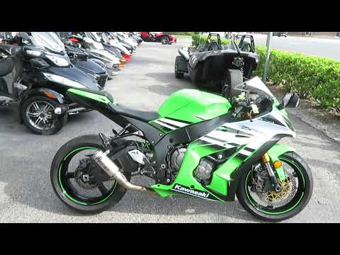 2015 Kawasaki Ninja® ZX™-10R in Sanford, Florida - Video 1