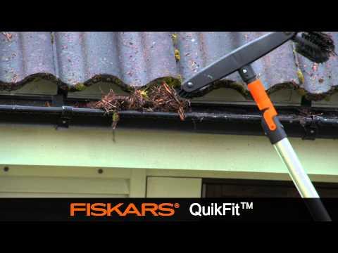 Fiskars QuikFit notekas birste 135542 cena un informācija | Dārza instrumenti | 220.lv