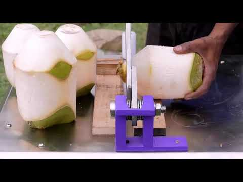 Green Coconut Trimming Machine