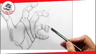 How To Draw Realistic Hands, Step By Step, Easy Drawing Techniques