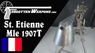 The St Etienne Mle 1907: France's Domestic Heavy Machine Gun