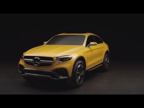 Mercedes Benz  Glc Class Coupe Купе класса J - рекламное видео 5