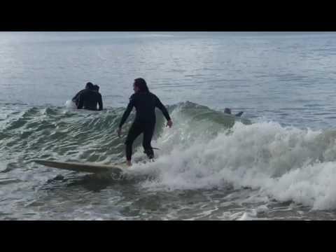 Surfing fun waves at Lorne Point