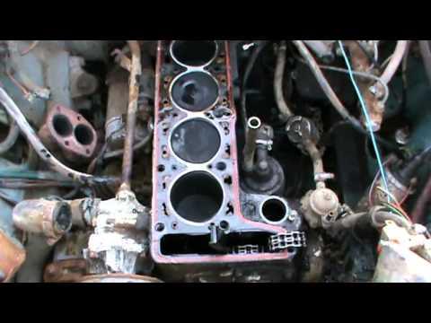 Начало капитального ремонта двигателя ВАЗ 2107