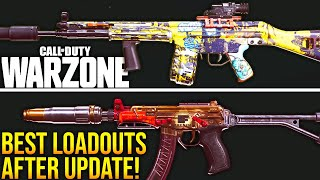 Call Of Duty WARZONE: TOP 10 LOADOUTS AFTER The MID-SEASON UPDATE! (WARZONE Best Setups)
