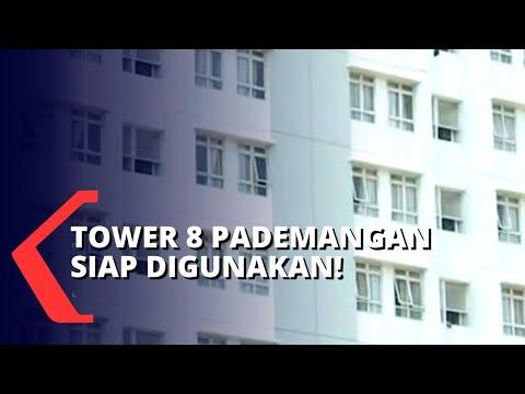 siap digunakan tower wisma atlet pademangan belum kedatangan pasien otg corona