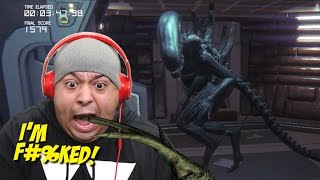 WHY THE F#%K YALL GOT ME PLAYING THIS!!?? [ALIEN ISOLATION]