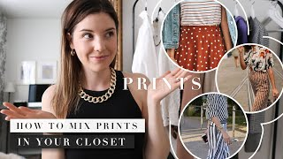 Fashion Basics: How To Mix Prints And Pattern In Clothes   Capsule Wardrobe Tips   By Erin Elizabeth