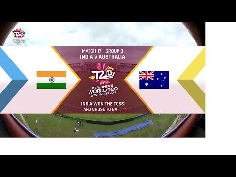 India v Australia - Women's World T20 2018 highlights