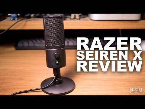 Razer Seiren X USB Mic Review / Test