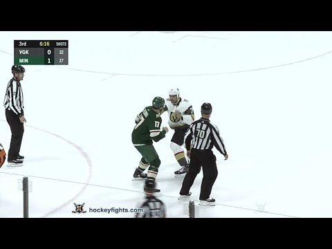 Marcus Foligno vs. Ryan Reaves
