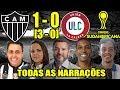 Todas As Narrações - Atlético-MG 1(3) X (0)0 Unión La Calera / Copa Sul-Americana 2019