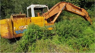 Rescuing an abandoned Fiat Hitachi FH150 Excavator – Part 1