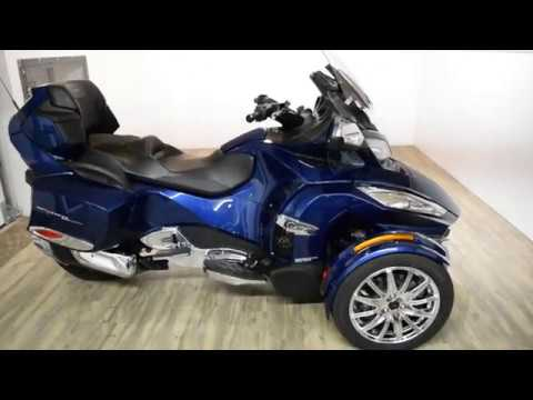 2017 Can-Am Spyder RT Limited in Wauconda, Illinois - Video 1