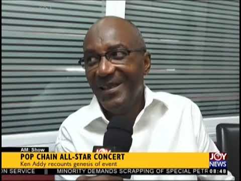 Pop Chain All-Star Concert - AM Showbiz on JoyNews (20-9-18)