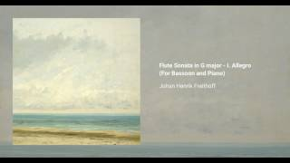 Flute Sonata in G major