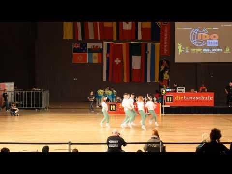 HIP HOP WORLD CHAMPIONSHIP - 6th PLACE- BREAK  A  LEG (MACEDONIA)