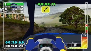 Colin McRae Rally ::: First 30 Minutes ::: Gameplay ::: PlayStation (PS1)