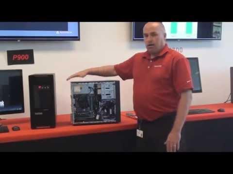 Übersicht Lenovo ThinkStation P300 (engl.)