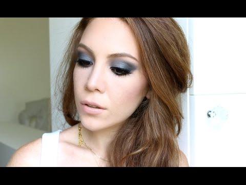 Mavi Farla Smokey Eye Makyajı Ⅰ Aslı Özdel
