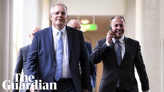Scott Morrison elected as new leader of the Liberal party
