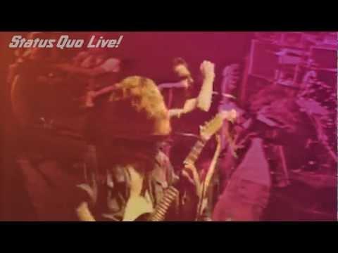 Status Quo - Don't Waste My Time/Apollo Glasgow 1976