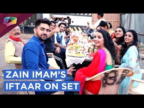 Shrenu Parikh's Treat To Zain Imam & Team Ek Bra