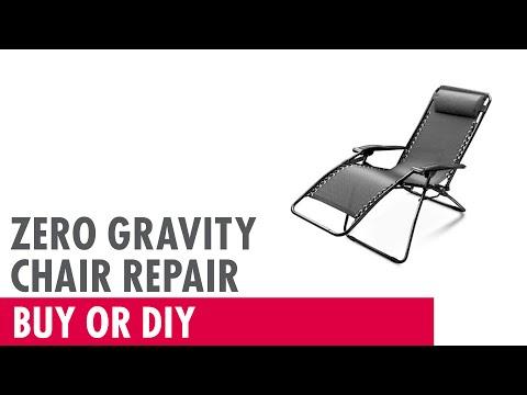 Video Zero Gravity Chair Repair - Buy or DIY