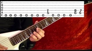 METAL ON METAL - Anvil - Guitar Lesson