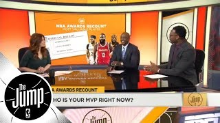 The Jump gives their predictions for Rookie of the Year, MVP and Coach of the Year | The Jump | ESPN - Video Youtube