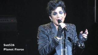 "HD Adam Lambert ""A Loaded Smile"" River Rock 040910.mov"