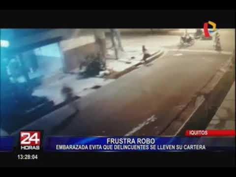 Iquitos: mujer embarazada frustra robo de su cartera