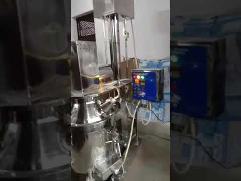 Vacuum Type Planetary Mixer
