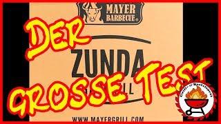DER GROSSE TEST!!! - ZUNDA GASGRILL MGG-362 MASTER MIT BACKBURNER - Mayer Barbecue - BBQ
