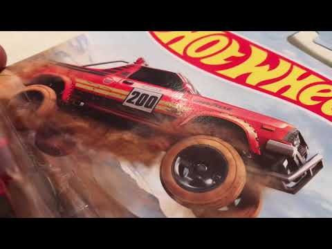 Hot Wheels Subaru Brat (2019 Walmart Baja Racing Trucks Set)
