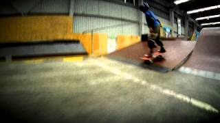 preview picture of video 'Jay's trip to The Shed (Skate Park, not the farm..)'