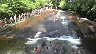 Sliding Rock, North Carolina