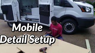 2020 Mobile Auto Detailing Setup Part 1