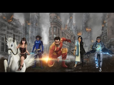New Indian Superheroes launched by DK FILMS | Explained In Hindi