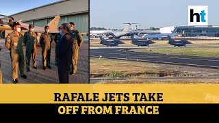 Watch: Five Rafale Jets Take Off For India, Induction Likely On Wednesday
