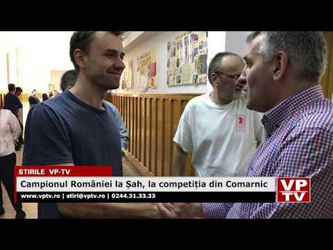 Campionul României la Șah, la competiția din Comarnic