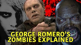 GEORGE ROMERO'S ZOMBIES EXPLAINED 1968-2009 (Creature Analysis)