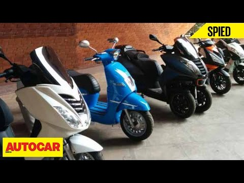 Spied | Mahindra Two Wheelers | Peugeot Scooters | Autocar India Podcast